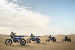 Yamaha WR450F Rally bikes, Yamaha Official Rally Team