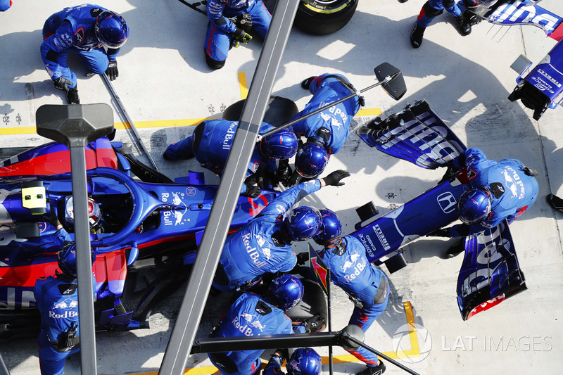18e Pierre Gasly, Toro Rosso STR13 Honda