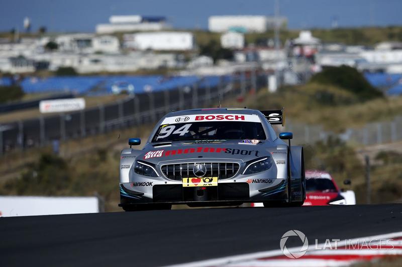 10. Pascal Wehrlein, Mercedes-AMG Team HWA, Mercedes-AMG C63 DTM