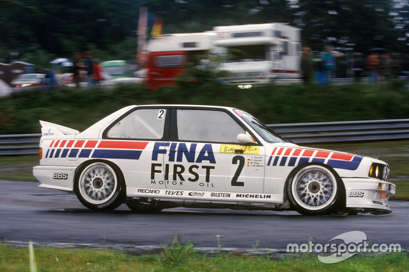 1992: Johnny Cecotto, Christian Danner, Jean-Michel Martin, Marc Duez (BMW M3 Evo 2)