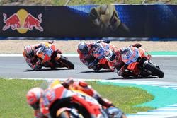Marc Marquez, Repsol Honda Team, Jorge Lorenzo, Ducati Team, Andrea Dovizioso, Ducati Team, Dani Pedrosa, Repsol Honda Team