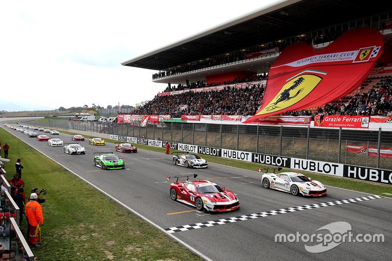 Griglia di partenza del Trofeo Pirelli