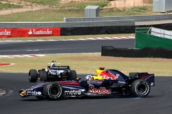 David Coulthard, Red Bull Racing RB3 spins