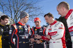 Thierry Neuville, Hyundai Motorsport, Nicolas Gilsoul, Hyundai Motorsport, Kris Meeke, Citroën World Rally Team, Paul Nagle, Citroën World Rally Team