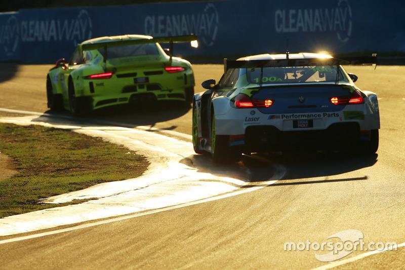 #100 BMW Team SRM BMW M6 GT3: Steven Richards, Timo Glock, Philipp Eng