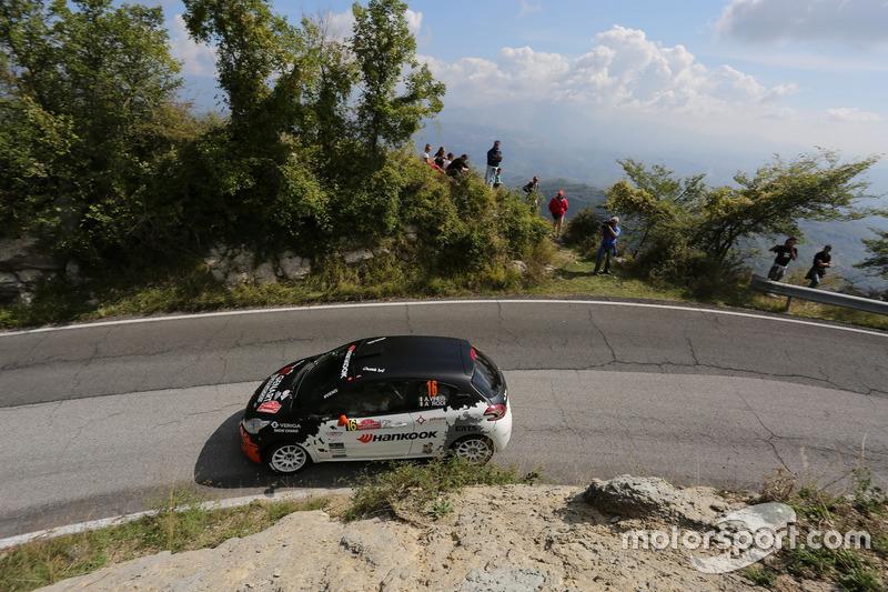 Andrea Vineis, Alessio Rodi, Peugeot 208 R2B #16,