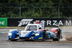 Off-track excursion for #27 SMP Racing BR01 Nissan: Nicolas Minassian, Maurizio Mediani, Mikhail Aleshin