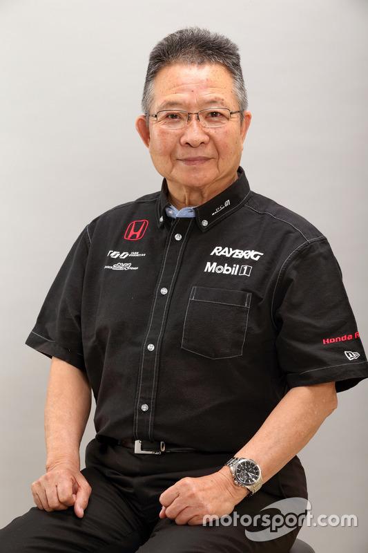 Kunimitsu Takahashi, General Manager of Team Kunimitsu