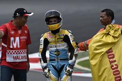 Juanfran Guevara, RBA Racing Team, nach Sturz