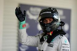 Nico Rosberg, Mercedes AMG F1 celebrat su segunda posición en parc ferme