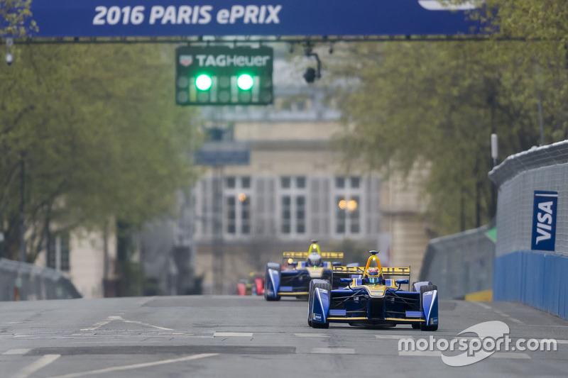 Sébastien Buemi, Renault e.Dams and Nicolas Prost, Renault e.Dams