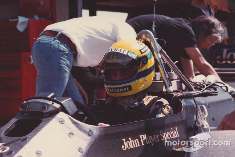 Ayrton Senna, Lotus 98T-Renault