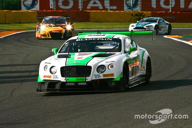 #24 Team Parker Racing Bentley Continental GT3: Ian Loggie, Tom Onslow-Cole, Callum Macleod, Andy Meyrick