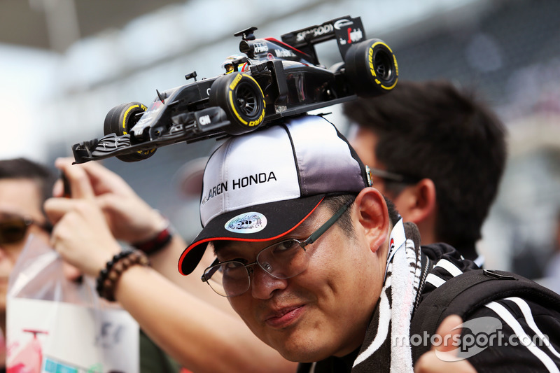 Un fan de McLaren