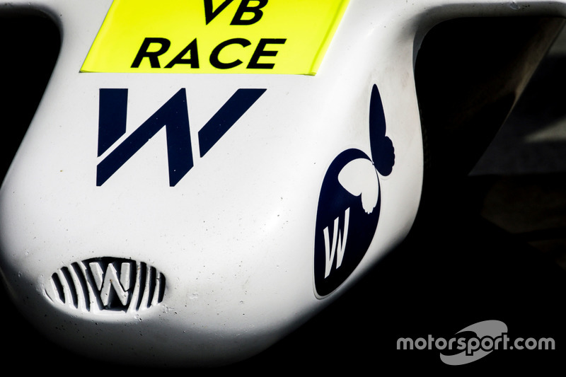 Williams FW38 nosecone