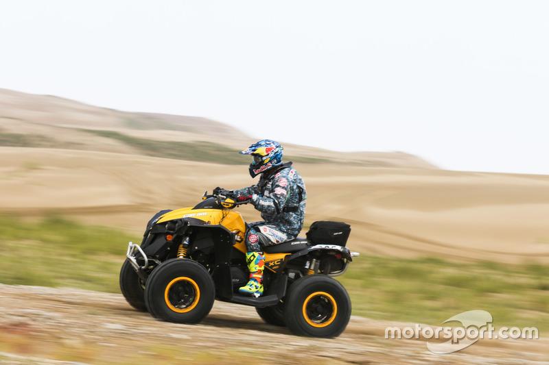 2016CCR青海站,SS4,ATV车手