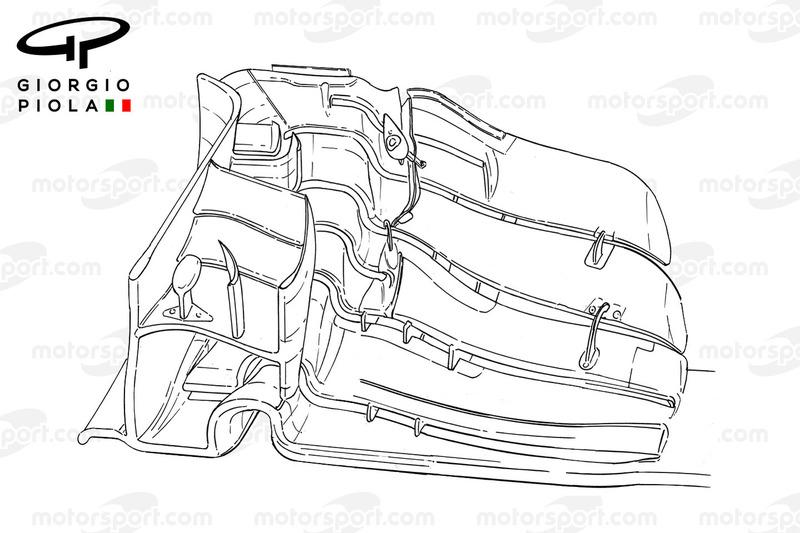 Force India VJM09, Frontflügel für Barcelona