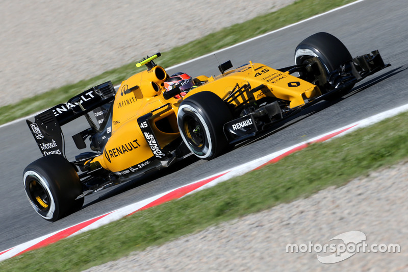 Esteban Ocon, Renault Sport F1 Team, Testfahrer