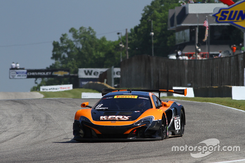 #13 K-Pax Racing McLaren 650S GT3: Colin Thompson
