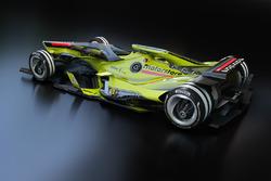 Дизайн воображаемой машины Ф1 будущего