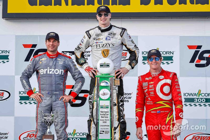 Подіум: перемоець Джозеф Ньюгарден, Ed Carpenter Racing Chevrolet, друге місце -  Вілл Пауер, Team Penske Chevrolet, третє місце -  Скотт Діксон, Chip Ganassi Racing Chevrolet