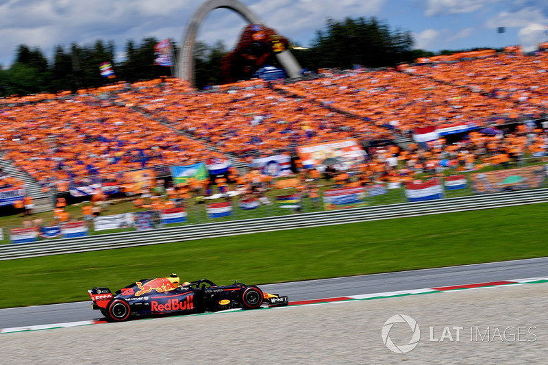 9. GP Austria - Pemenang: Max Verstappen
