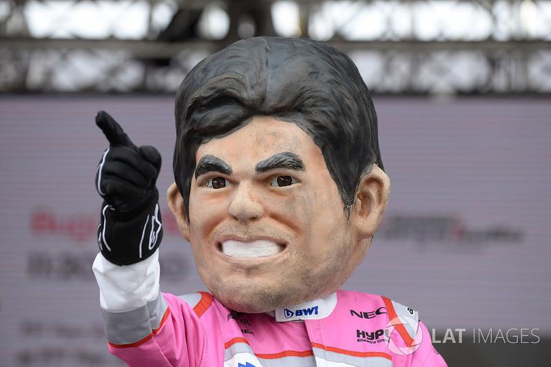 Кукла Серхио Переса, Sahara Force India F1