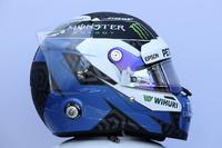 Шлем гонщика Mercedes AMG F1 Валттери Боттаса