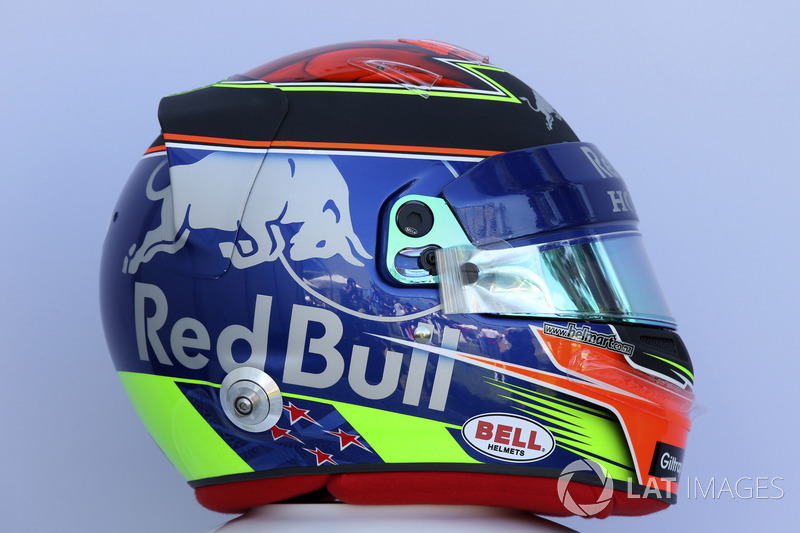 Casco de Brendon Hartley, Scuderia Toro Rosso