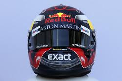 Il casco di Max Verstappen, Red Bull Racing