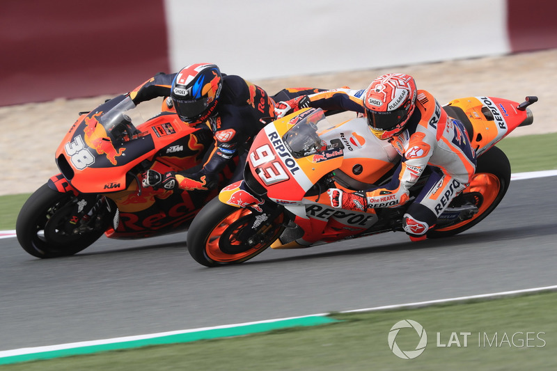 Marc Márquez, Repsol Honda Team, Bradley Smith, Red Bull KTM Factory Racing