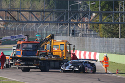 #178 Antonelli Motorsport: Corey Lewis, JC Perez, crash