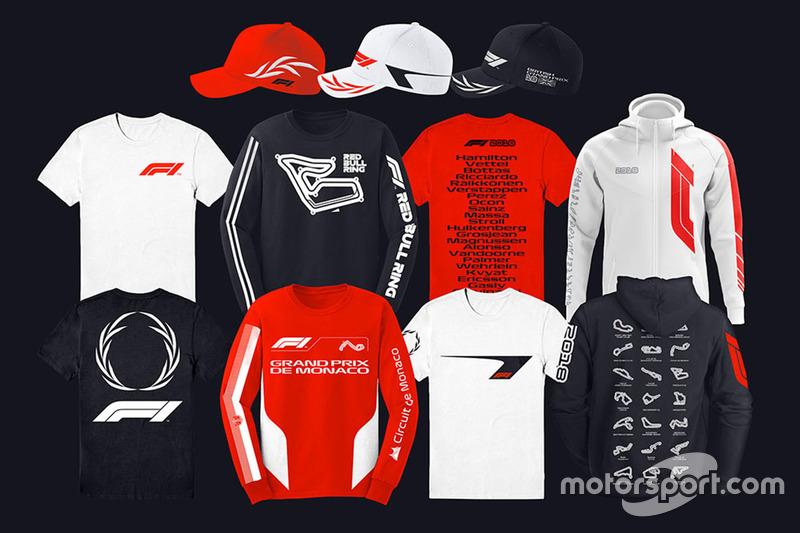 F1 logolu ürünler