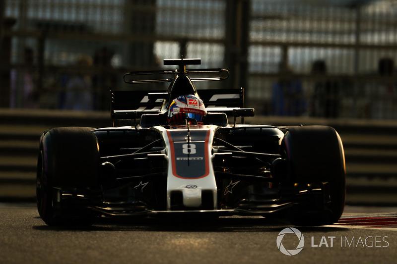 16. Romain Grosjean, Haas F1 Team VF-17
