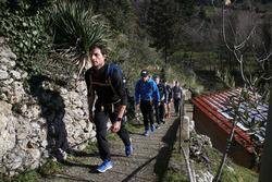 Bruno Spengler, Augusto Farfus e Marco Wittmann, fanno escursionismo