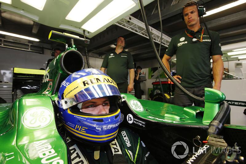 Marcus Ericsson, Caterham F1