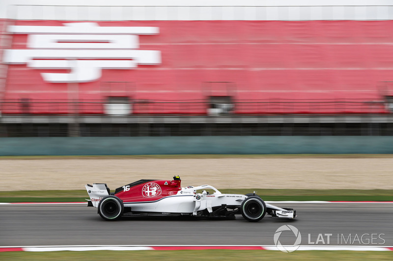 19. Charles Leclerc, Sauber C37 Ferrari