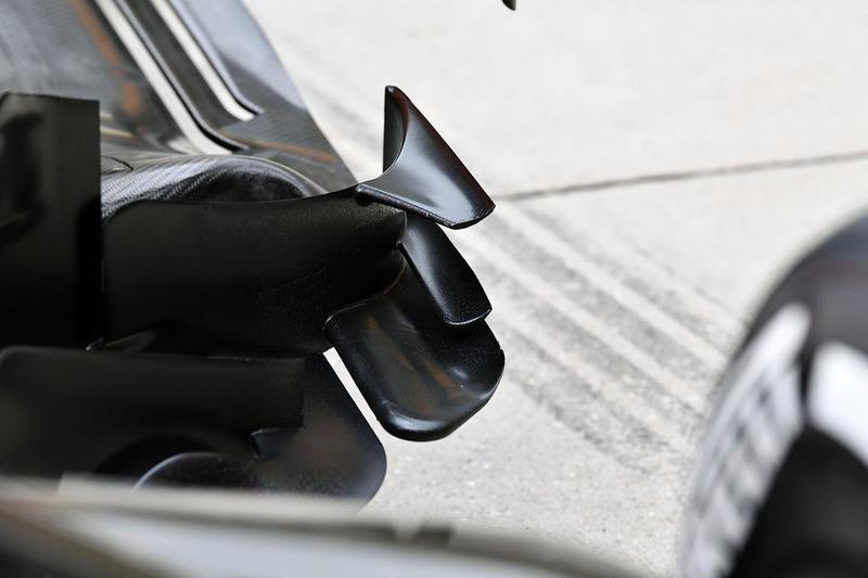 Des détails aérodynamiques sur la McLaren MCL33