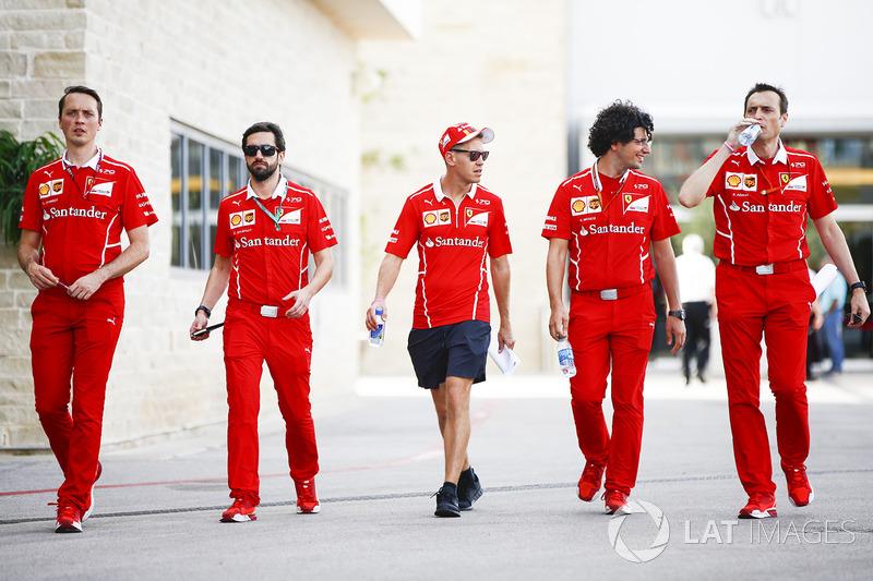 Себастьян Феттель, Ferrari, з командою
