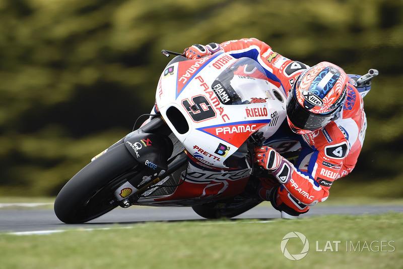 17. Danilo Petrucci, Pramac Racing