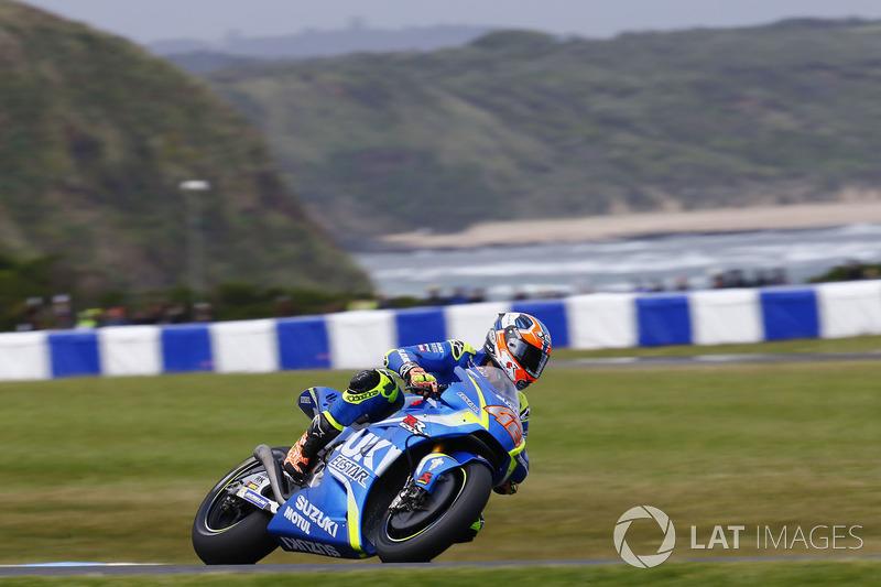 15. Alex Rins, Team Suzuki MotoGP