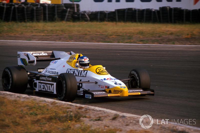 Keke Rosberg, Williams FW09B