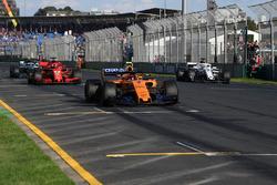 Essais de départ pour Stoffel Vandoorne, McLaren MCL33