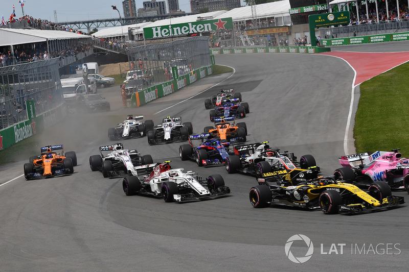 Charles Leclerc, Sauber C37 au départ