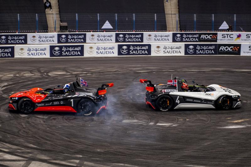 David Coulthard e Petter Solberg alla guida della VUHL 05 ROC Edition