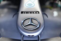 La nariz del Mercedes AMG F1 W09