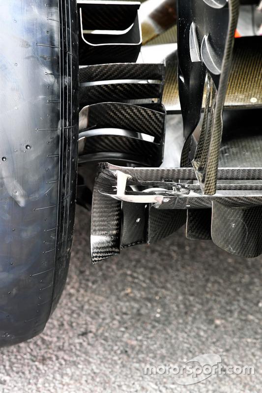 Renault RS17: Diffusor