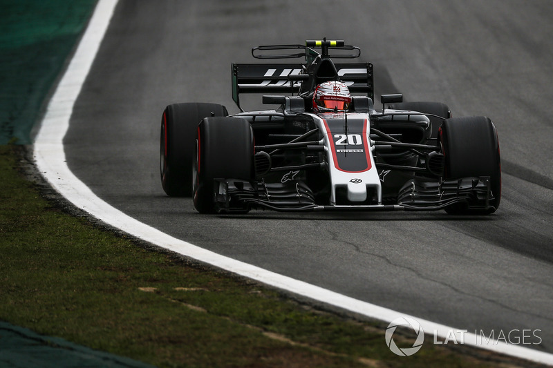 Unfall: Kevin Magnussen, Haas F1 Team VF-17