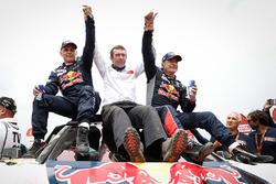 1. Carlos Sainz, Lucas Cruz, Peugeot Sport, Bruno Famin
