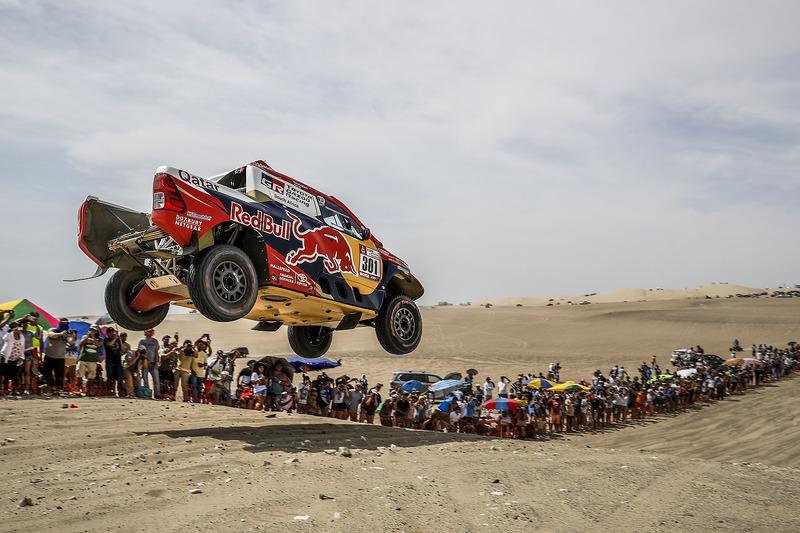 #301 Toyota Gazoo Racing Toyota: Nasser Al-Attiyah e Matthieu Baumel